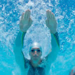 swimming, gliding or sculling drills