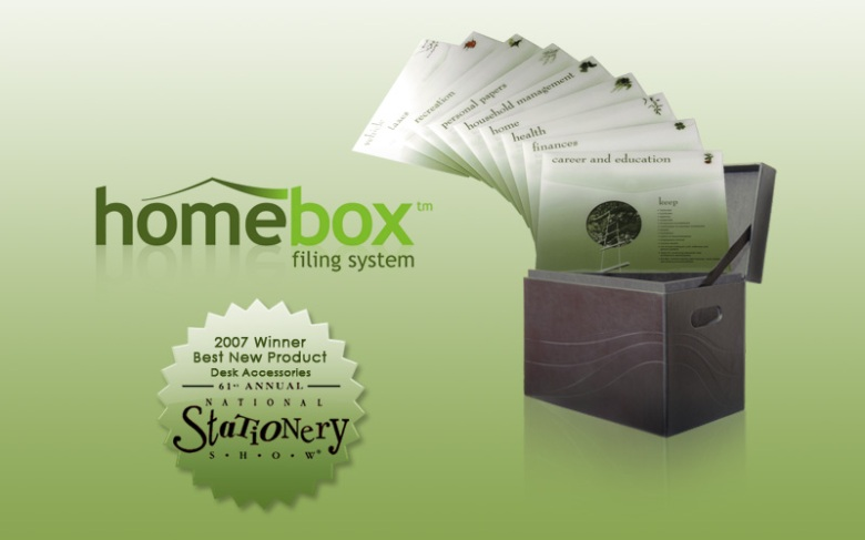 Homebox file organizer